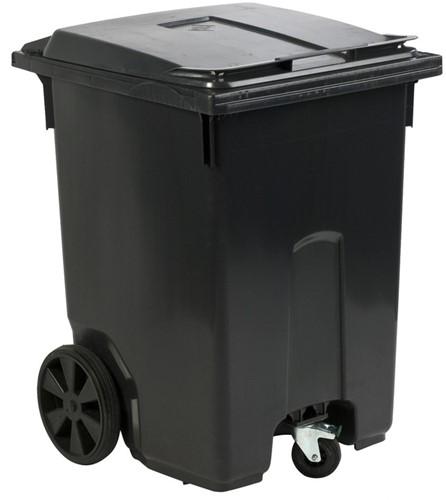 Mini-container, 400L, Grijs