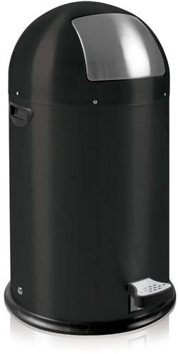 EKO Kickcan Pedaalemmer 33 L, Mat Zwart