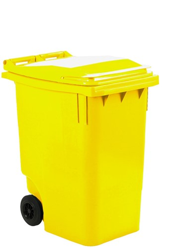 Mini-container, 360L, Geel