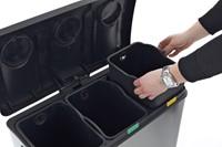 EKO Rejoice Recycling Pedaalemmer, 3x12L-2
