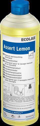 Ecolab Assert Lemon - Handafwas premium, 6 x 1 L