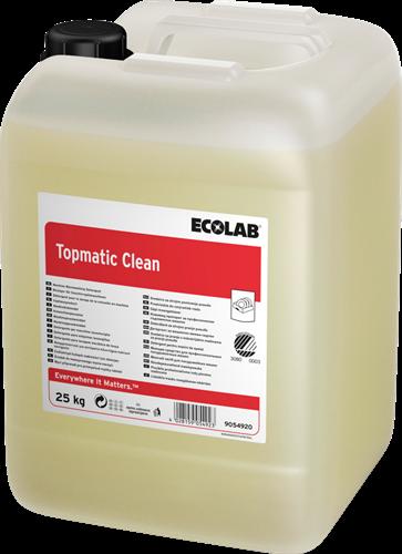 Ecolab Topmatic Clean - Vloeibaar vaatwasmiddel, 25 kg
