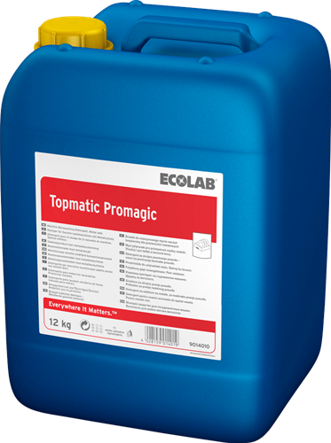 Ecolab Topmatic Promagic - Vloeibaar vaatwasmiddel, 12 kg