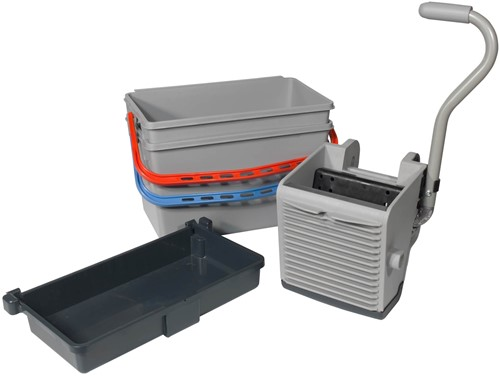 Numatic SGA-2 Mopkit, 2x22 liter emmer + pers