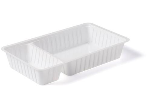 Plastic Bak Frites A20 wit 205x122x36 mm, 4x250st
