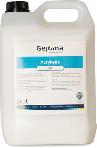Gejoma Acrylwas, Mat, 2x5 L