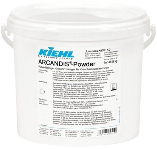 Kiehl Arcandis Powder - Vaatwaspoeder, 5 kg