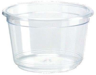 Plastic Transparante Saus Cup, 30cc