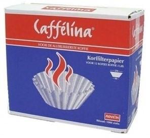 Caffelina koffie korffilter Wit 250/90