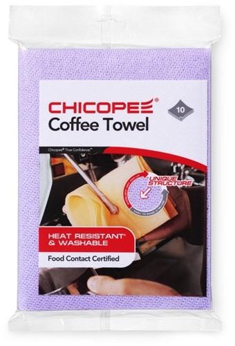 Chicopee 74747 Coffee Towel, 34x36 cm, Paars