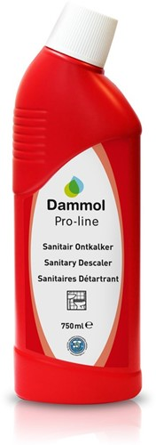 Dammol Pro-line Sanitair Ontkalker 12x750ml