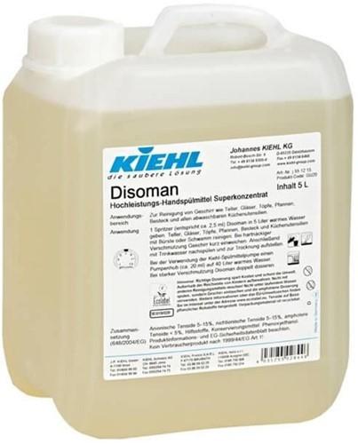 Kiehl Disoman - Hand-afwasmiddel, 2 x 5 L