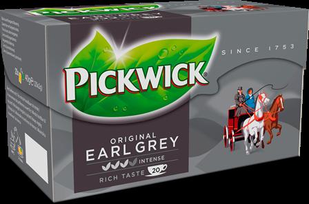 Pickwick Thee, Earl Grey Thee 100 x 2gr