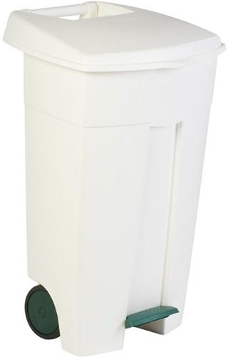 Rubbermaid Eco Step-On Container, 106 L, Wit