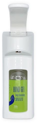 Ecolab Dermados Elleboog dispenser  Wit 500ml