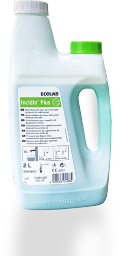 Ecolab Incidin Plus 3x2L
