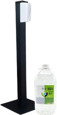 Gejoma Hygiëne Zuil incl. Sensor Dispenser en 5L vullingen