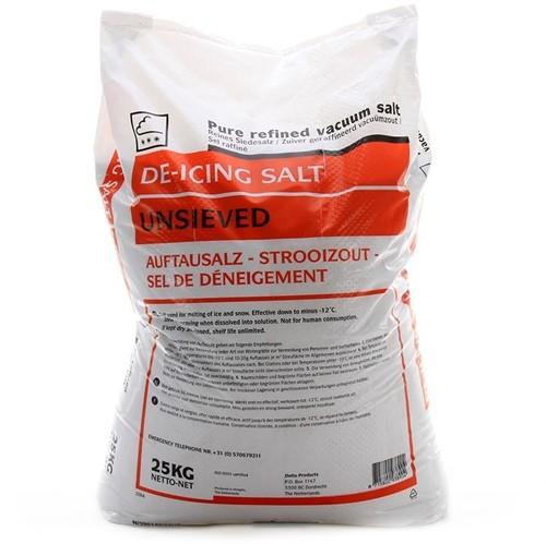 Strooizout voor gladde wegen, 25 kg