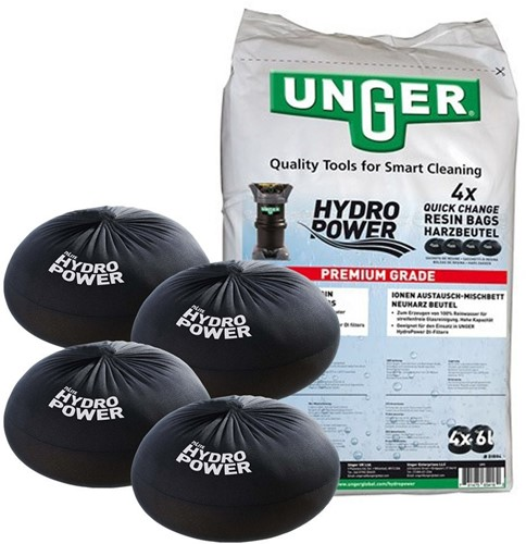 Unger QuickChange Hars, 4 x 6 L in zak