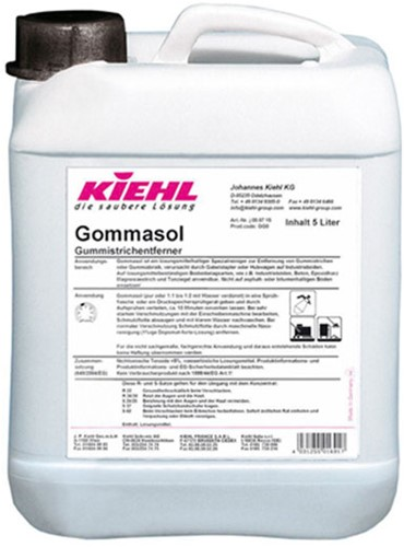 Kiehl Gommasol - Verwijderaar van rubberstrepen, 5 L