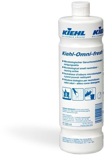 Kiehl Omni-Fresh Microbiologische Geur neutralisator - actief reinigingsmiddel 6 x 1 L
