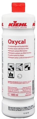 Kiehl Oxycal - Sanitairreiniger, 6 x 1 L