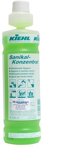 Kiehl Sanikal Konzentrat - Geconcentreerde Sanitairreiniger, 4 x 1 L
