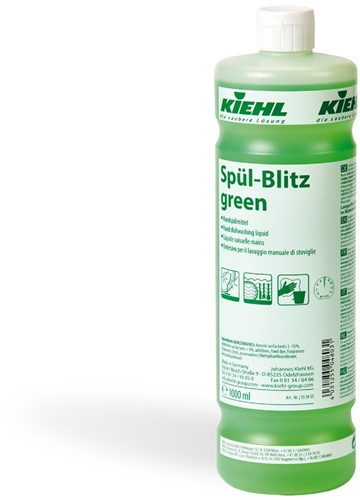 Kiehl Spül-Blitz Green - Afwasmiddel, 1 L