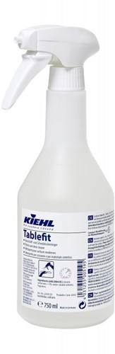 Kiehl Tablefit - Kunststof- en bureaureiniger, 6 x 750 ml