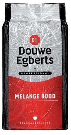 Douwe Egberts Rood Snelfilter Koffie, 6 x 1 kg