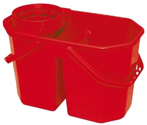 Gejoma Spaanse Mopemmer Dubbel Incl. zeef rood
