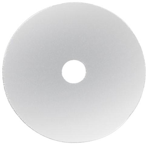 "Gejoma Basic Vloerpad Wit 21"" / 533 mm 5st"