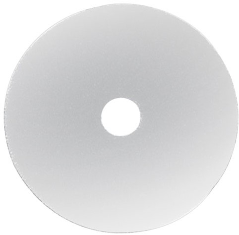 "Gejoma Basic Vloerpad Wit 13"" / 330 mm 5st"