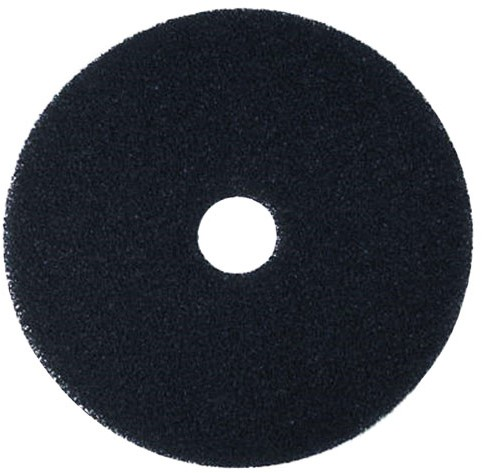 "Gejoma Basic Vloerpad Zwart, 20"" / 505 mm 5st"