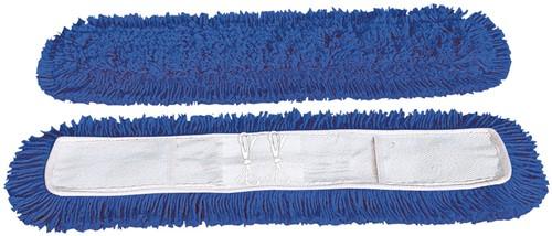 Gejoma Zwabber met Hoes Pockets, Blauw, 130 cm
