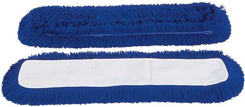 Gejoma Zwabber met Hoes Pockets, Blauw, 80 cm