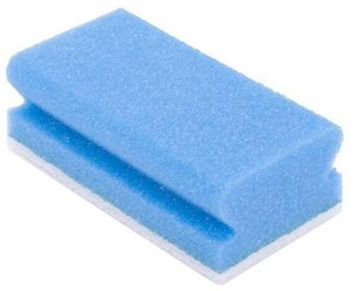 Gejoma Schuurspons met Grip, Blauw/Wit, 70 x 145 x 43 mm