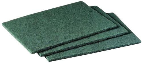 Gejoma Basic Handpad Nylon Dunne Pad groen 224 x 150 mm 20st