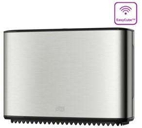 Tork Mini Jumbo Toiletpapier Dispenser, RVS