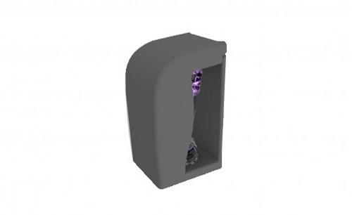 Gejoma Luchtverfrisser Tower Dispenser, Zwart, 1 stuk