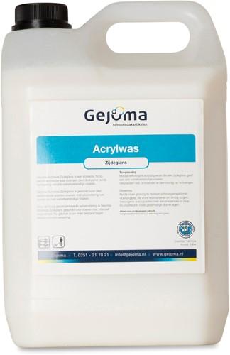 Gejoma Acrylwas, Zijdeglans, 2x5 L